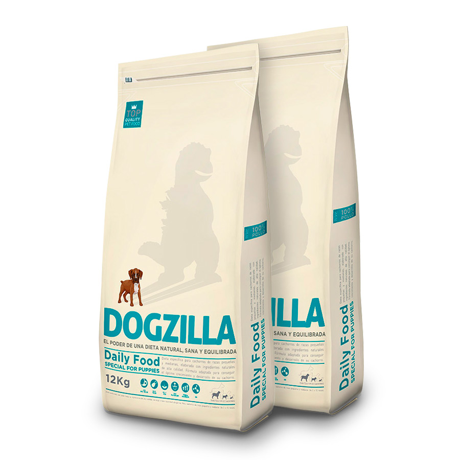 Dogzilla Puppy PackDuo 12Kg image number null