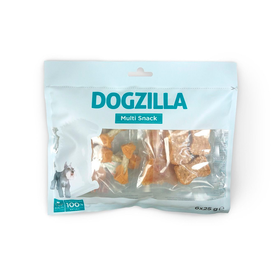 Multisnacks Dogzilla Pack 6 x 25 gr, , large image number null
