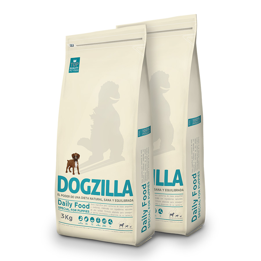 Dogzilla Puppy Pack Duo 3Kg image number null