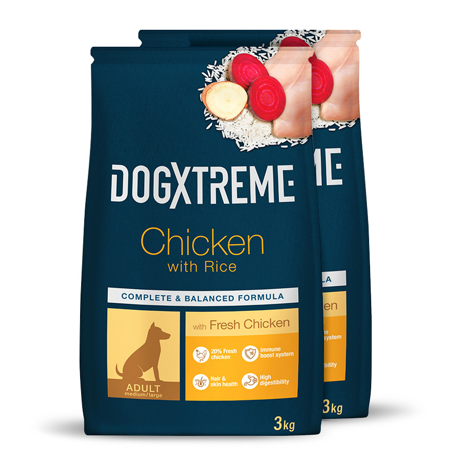 Pienso Dogxtreme pollo Pack Ahorro 3Kg image number null