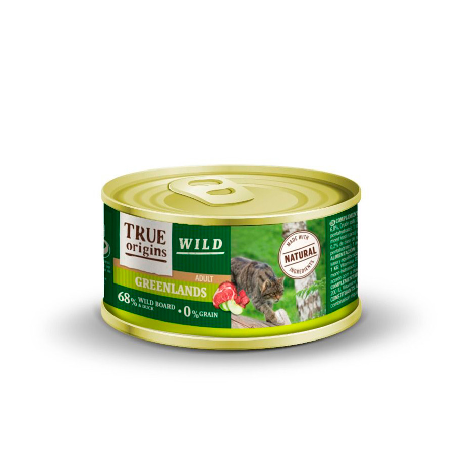 True Origins Wild Feline lata Greenlands 100 gr, , large image number null