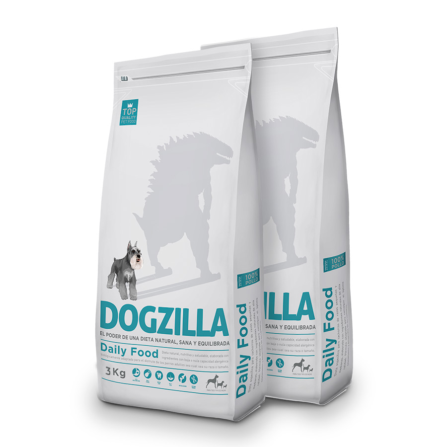 Dogzilla Pollo Pack Duo 3Kg image number null