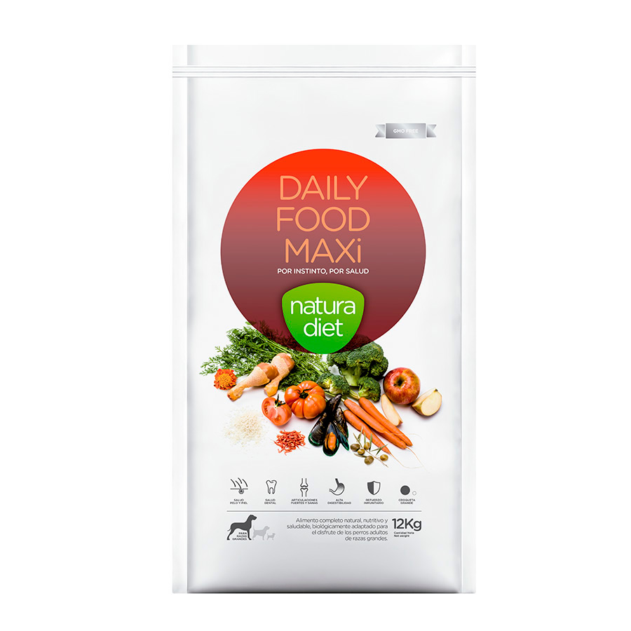 Natura Diet Daily Food Maxi Adult 12 kg, , large image number null