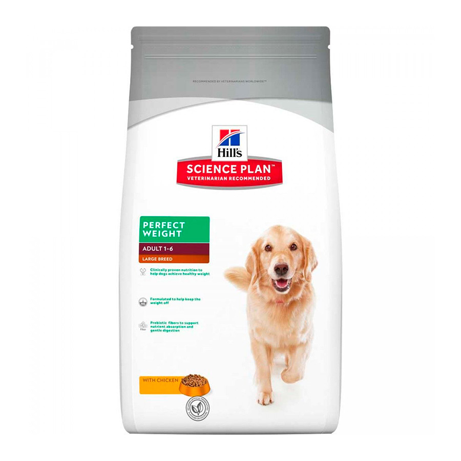 Hill's Science Plan Perfect Weight Large Breed 12 kg, , large image number null