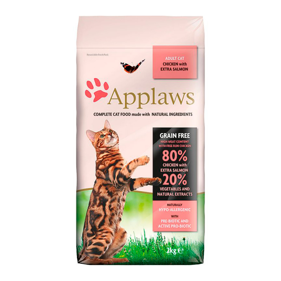 Applaws Feline Adult Grain Free salmón y pollo 7,5kg, , large image number null