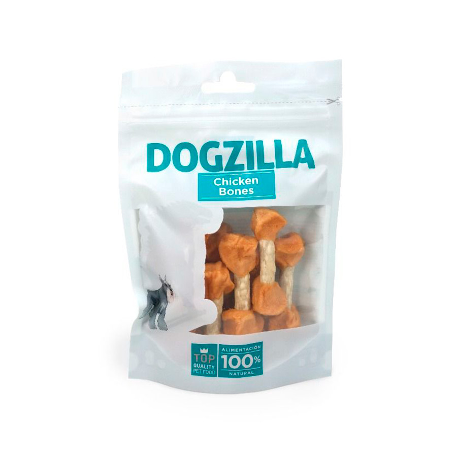 Snacks Dogzilla Chicken Ossos 100 g, , large image number null