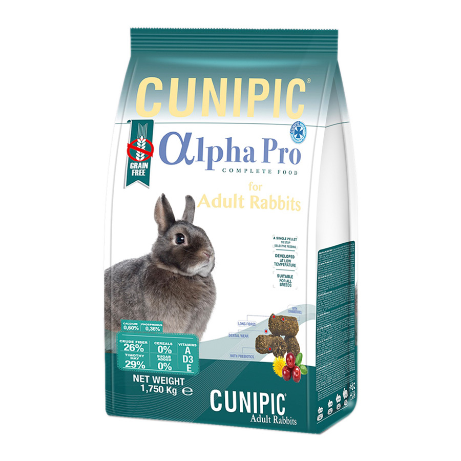 Alimento Alpha Pro de Cunipic para Conejo 1.75 kg, , large image number null