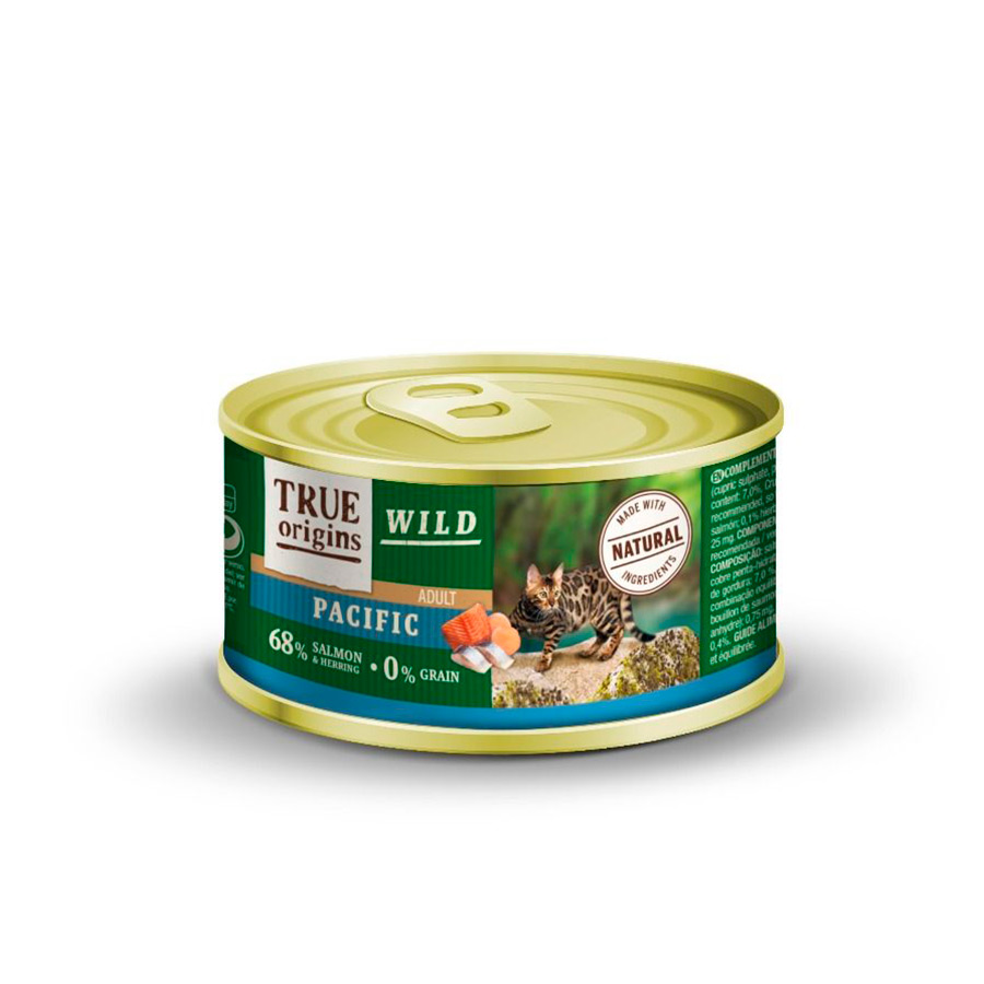 True Origins Wild Feline lata Pacific 100 gr, , large image number null