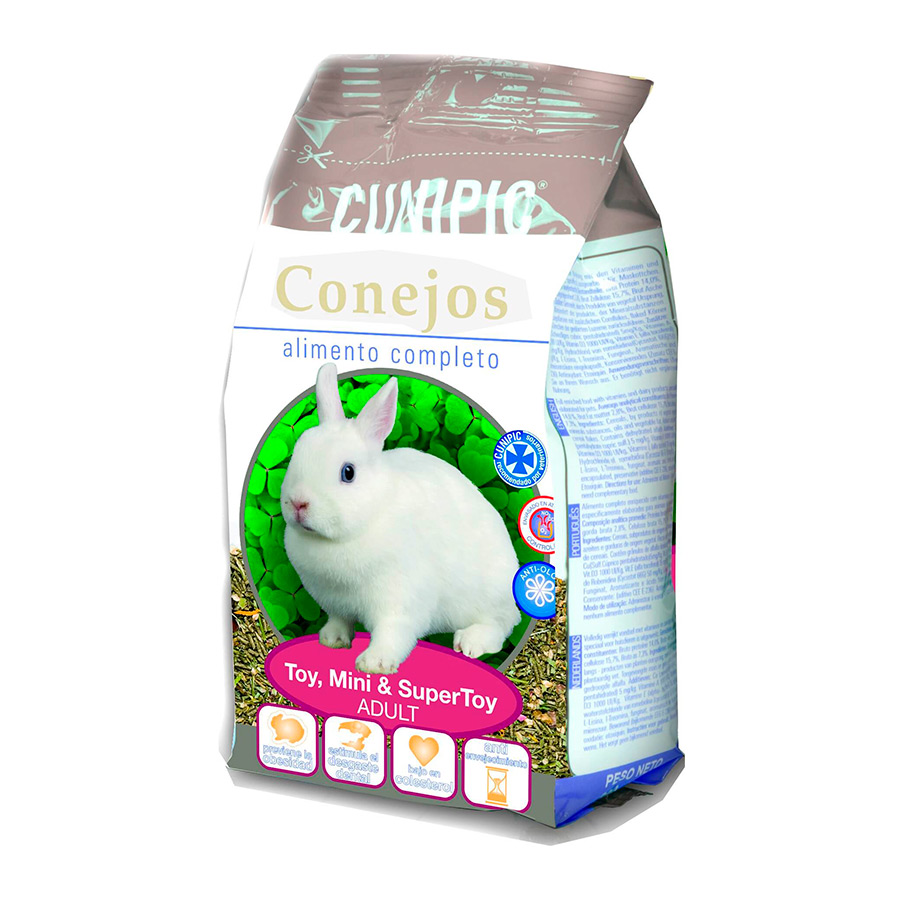 Cunipic Adult alimento para conejo Toy, Mini y SuperToy, , large image number null