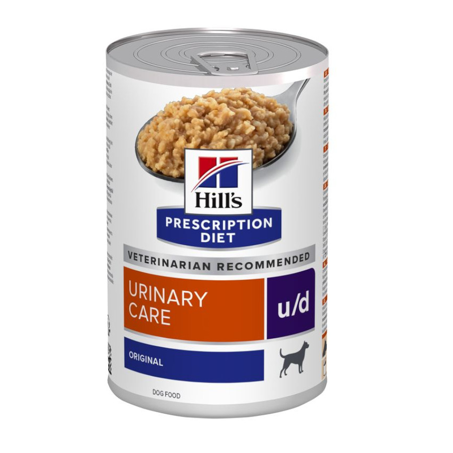 Hill's Lata Prescription Diet u/d canine 370 gr, , large image number null