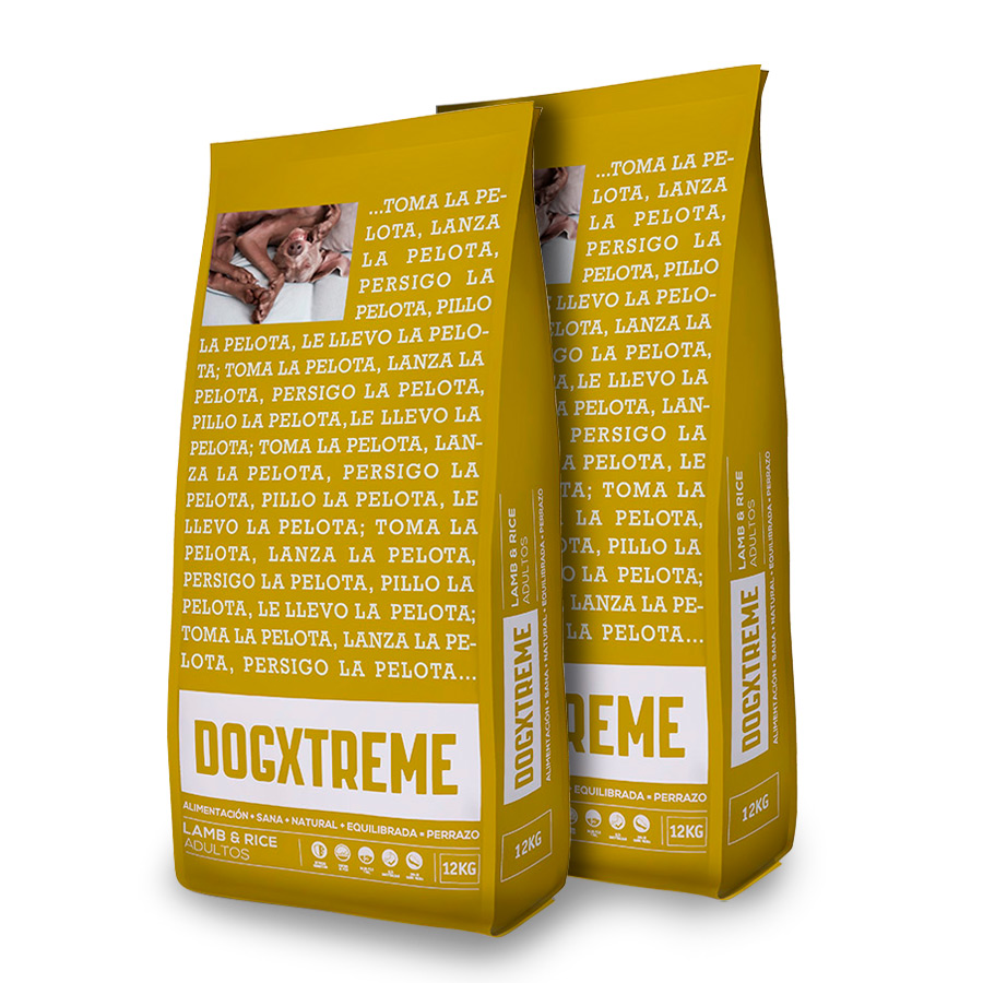 Dogxtreme Cordero Pack Ahorro 2x12Kg Viejo pack image number null