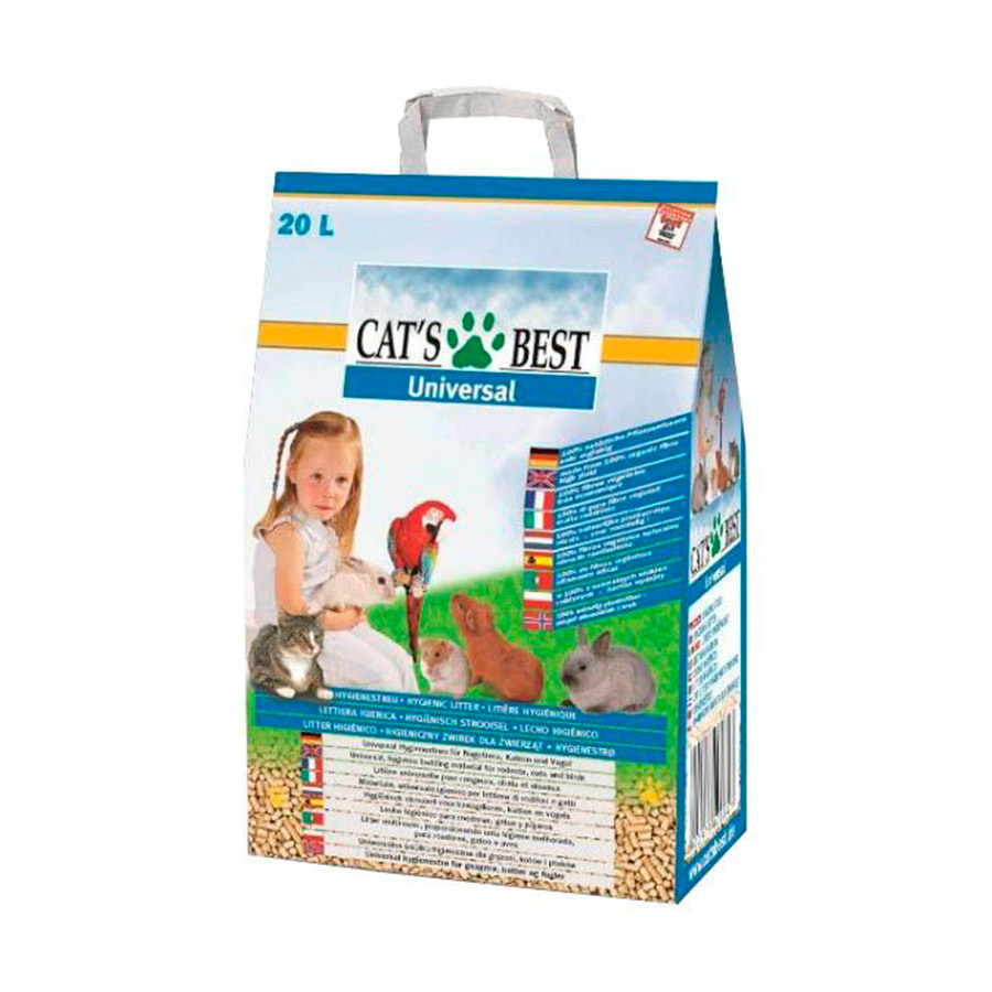 Cat's Best Universal 20 L leito para animais, , large image number null
