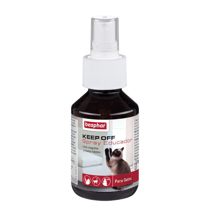 Repelente de interior Keep Off Spray Educador anti-arranhões e maus hábitos para gato, , large image number null